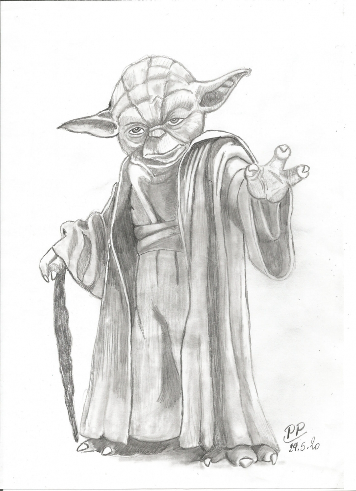 Yoda by Patoux